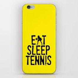 Eat Sleep Tennis iPhone Skin