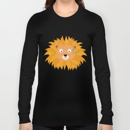 Sweating lion head T-Shirt for all Ages D3qq6 Long Sleeve T-shirt