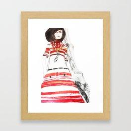 Paris 70's Framed Art Print