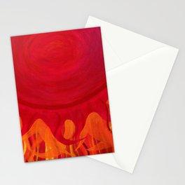 The Sun Has Already Risen Stationery Cards
