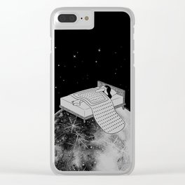 Healing Night Clear iPhone Case