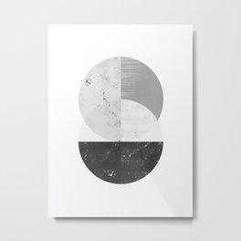 Abstract Circle  Metal Print