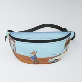 The Out of Service Phone Box Fanny Pack