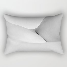 Abstract woman nude bodyscape Rectangular Pillow
