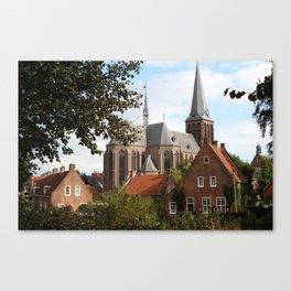 Castle, Huis Bergh, The Netherlands V Canvas Print