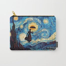 mary poppins Starry Night oil painting iPhone 4 4s 5 5c 6, pillow case, mugs and tshirt Carry-All Pouch