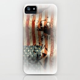 The Rise of a Nation iPhone Case