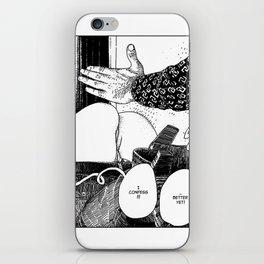 Apollonia Saintclair 492 - 20140603 La confession (I confess) iPhone Skin