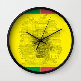 Words of Reggae Wall Clock