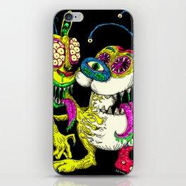 Monster Friends iPhone Skin