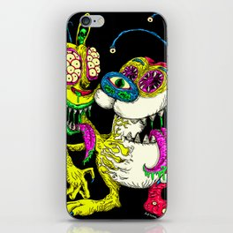 Monster Friends iPhone Skin