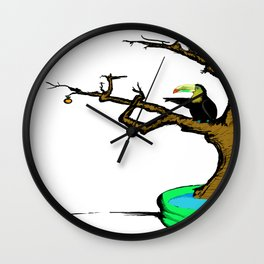 Tuki Wall Clock