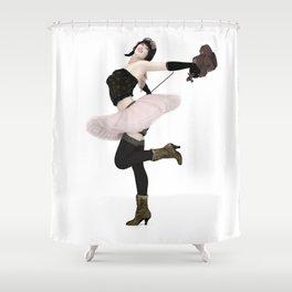 The Fiddler Shower Curtain