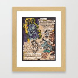 Subjectivity & Art Framed Art Print