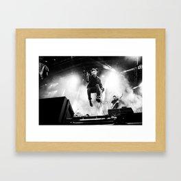 Damon Albarn (Blur) - I Framed Art Print