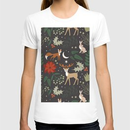 Christmas Forest Theme T-shirt