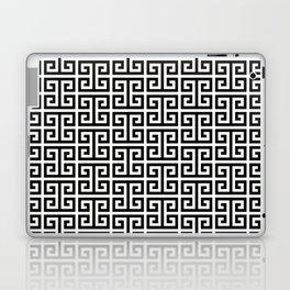 Black and White Greek Key Pattern Laptop & iPad Skin