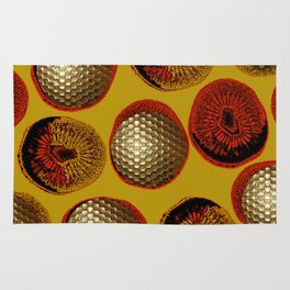 RED, YELLOW & GOLD Rug