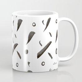 Brushes Pattern Coffee Mug