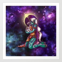Astro Love Art Print