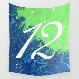 Blue & Green, 12, No. 3 Wall Tapestry