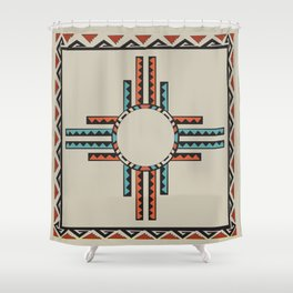 American Native Pattern No. 157 Shower Curtain