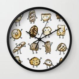 I Love Bread Wall Clock