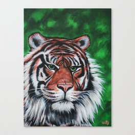 Sumatran Stripes Canvas Print
