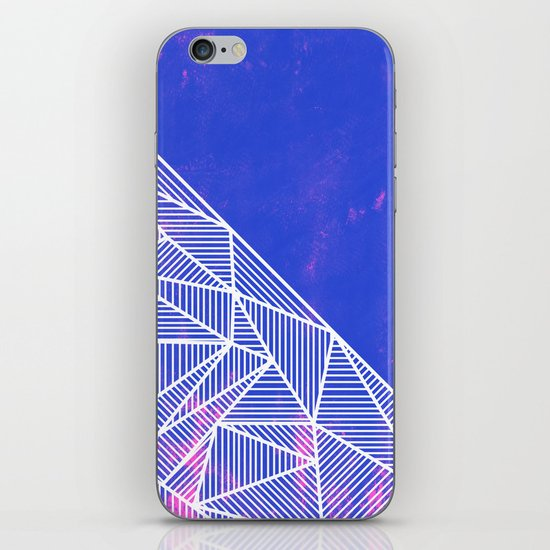 B Rays Geo Punk iPhone Skin