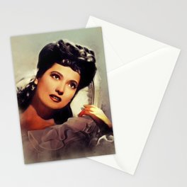 Merle Oberon, Vintage Actress Stationery Cards