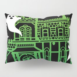 Haunted Victorian House Pillow Sham