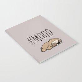 #MOOD - Sleepy Sloth Notebook