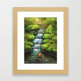Little Stream Framed Art Print