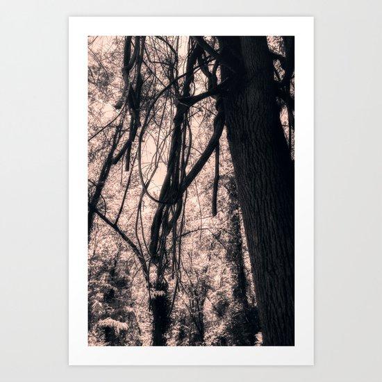 Happily Lost Art Print