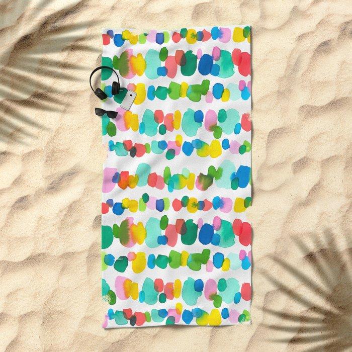 Paradise Dots Beach Towel