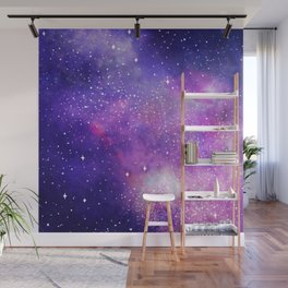 Space Nebula Galaxy Stars Wall Mural