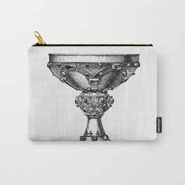 Vintage Victorian style goblet engraving Carry-All Pouch