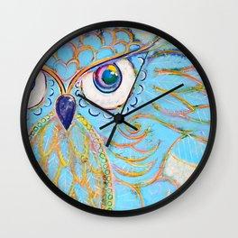 Owl - Colour Me Happy Wall Clock