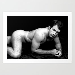 Classic Nude Man 2a Art Print