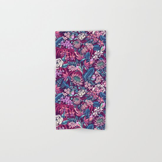 Stand Out! (ultraviolet) Hand & Bath Towel