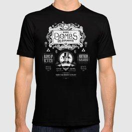Legend of Zelda Bomb Advertisement Poster T-shirt