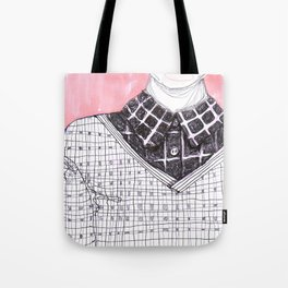 Plaid Party Tote Bag