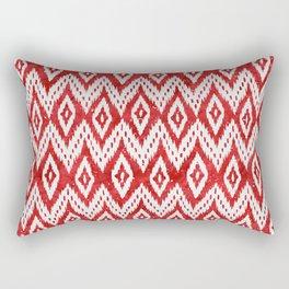 Bohemian Christmas - Ruby Rectangular Pillow