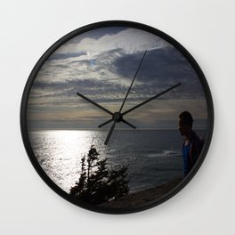 Son In The Sun Wall Clock