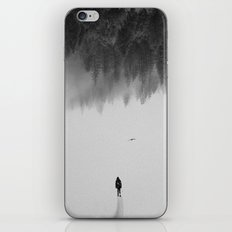 Silent Walk iPhone Skin