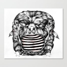 Width Owl- from new zine Canvas Print