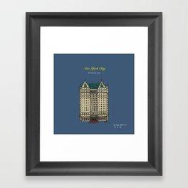 The Plaza Hotel Framed Art Print