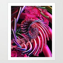 Flux Capacitor Art Print