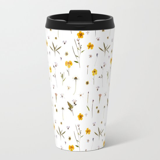 Wild flower meadow Travel Mug
