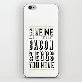 Bacon & Eggs iPhone Skin